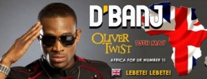 D'banj releases 'Oliver' UK version – produced by Don Jazzy